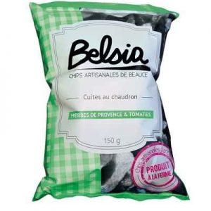 Chips artisanales Belsia aux herbes de Provence